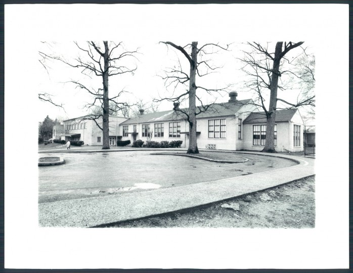 A view of Roland Park Country School on March 30, 1977. (Baltimore Sun photo)