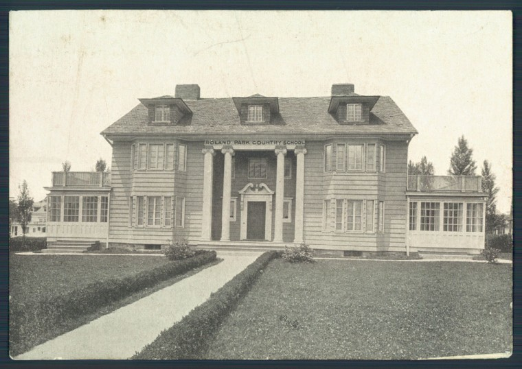 Roland Park Country School is pictured in an undated Baltimore Sun photo.