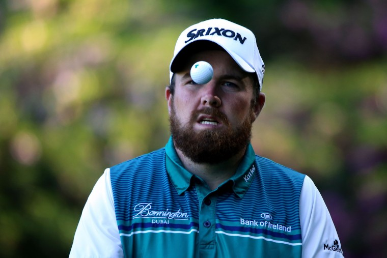 Shane Lowry of Ireland on the 13th green during the third round of the 2016 Masters Tournament at Augusta National Golf Club on April 9, 2016 in Augusta, Georgia. (Photo by Andrew Redington/Getty Images)