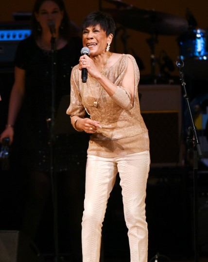 Singer Bettye LaVette performs at The Music of David Bowie tribute concert at Carnegie Hall on Thursday, March, 31, 2016, in New York. (Photo by Evan Agostini/Invision/AP)