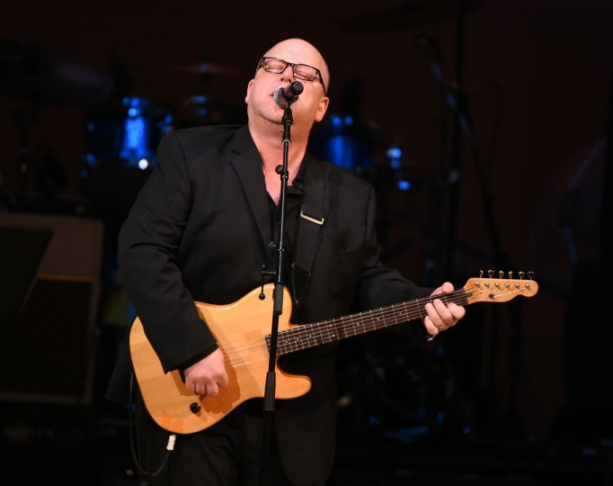 Musician Black Francis and Pixies perform at The Music of David Bowie tribute concert at Carnegie Hall on Thursday, March, 31, 2016, in New York. (Photo by Evan Agostini/Invision/AP)