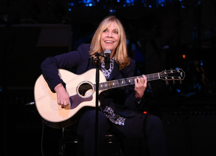 Singer-songwriter Rickie Lee Jones performs at The Music of David Bowie tribute concert at Carnegie Hall on Thursday, March, 31, 2016, in New York. (Photo by Evan Agostini/Invision/AP)