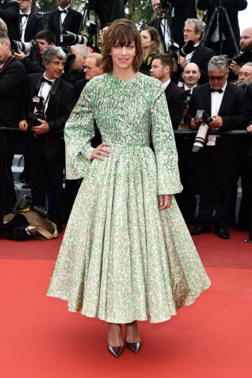 """CANNES, FRANCE - MAY 11: French actress Celine Sallette attends the """"Cafe Society"""" premiere and the Opening Night Gala during the 69th annual Cannes Film Festival at the Palais des Festivals on May 11, 2016 in Cannes, France. (Photo by Pascal Le Segretain/Getty Images)"""