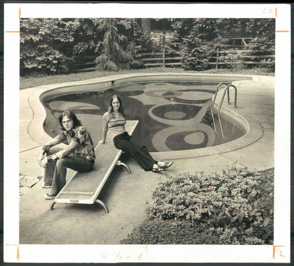 Private pool, June 23, 1972. (HUTCHINS/Baltimore Sun)