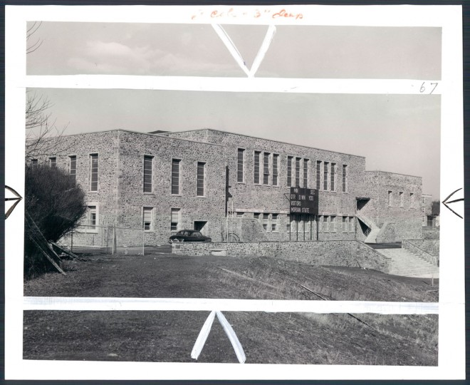 The Morgan State University Gymnasium, 1952.