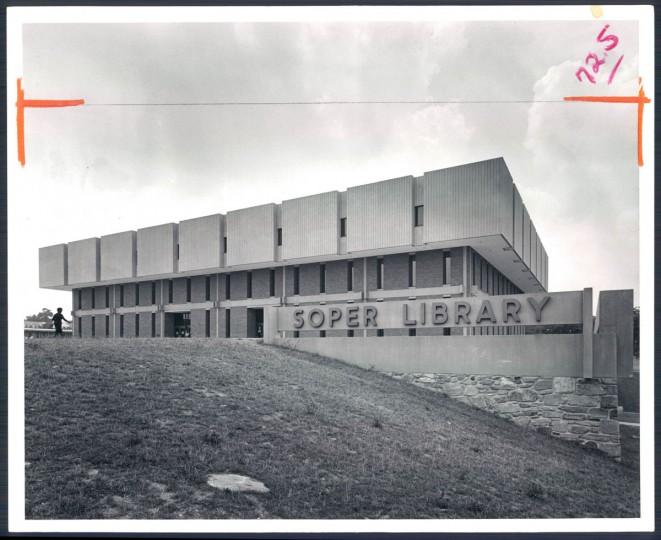 Soper Library, 1974.
