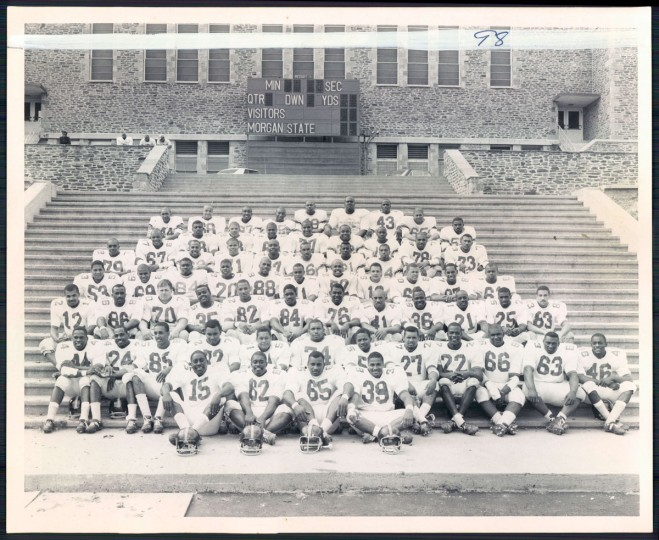 Morgan State football team, 1966.