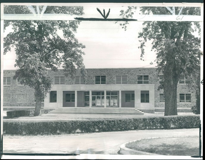 Morgan State College, Military Science Building, 1957.