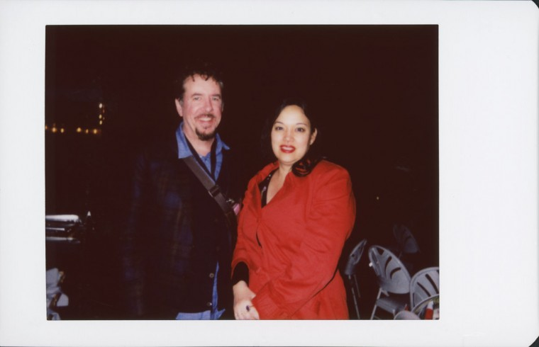 """Anna Biller and Jared Sanford, director and actor/producer of """"The Love Witch."""""""