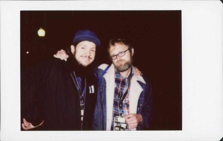 MDFF Programming Administrator J. Scott Braid and Director of Programming Eric Allen Hatch