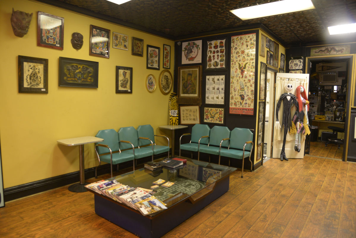 Tattoo Charlie\'s: Inking Baltimoreans on the Block since 1938