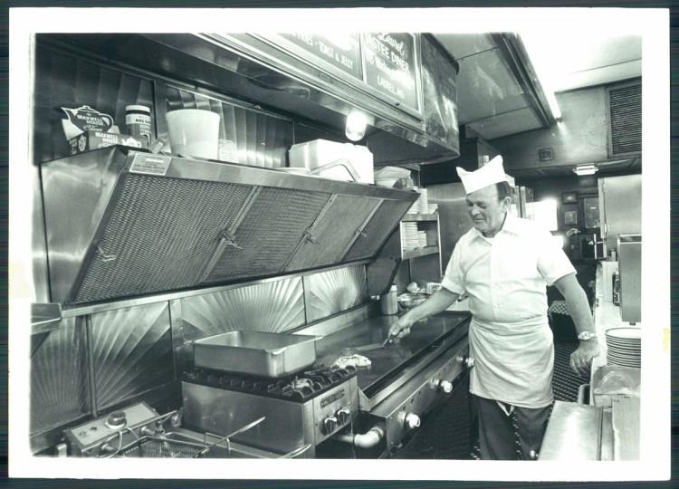 Diner, 1981. (Hutchins/Baltimore Sun)