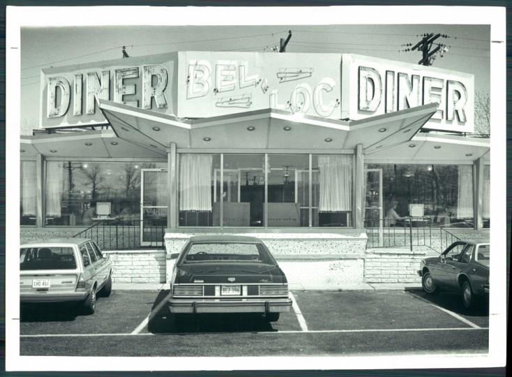Bel-Loc diner, 1981. (Baltimore Sun)