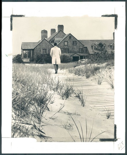 "One of the older--if not the oldest home on the beach at Rehoboth is ""The Homestead."" August 12, 1964. (Kniesche/Baltimore Sun)"