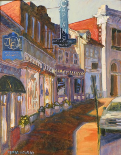 Caplans, Joan Eve plein air painting