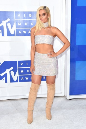 Bebe Rexha attends the 2016 MTV Video Music Awards at Madison Square Garden on August 28, 2016 in New York City. (Photo by Jamie McCarthy/Getty Images)