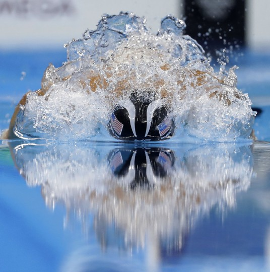 United States' gold medal winner Michael Phelps competes in the men's 200-meter individual medley final during the swimming competitions at the 2016 Summer Olympics, Thursday, Aug. 11, 2016, in Rio de Janeiro, Brazil. (AP Photo/Michael Sohn)