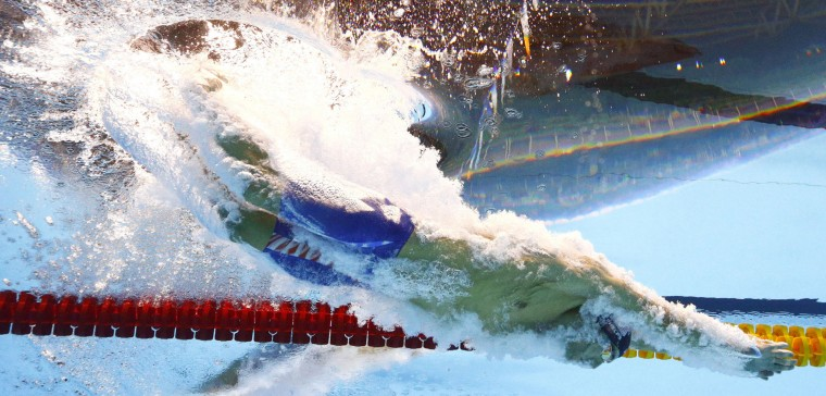 United States' Michael Phelps competes in a semifinal of the men's 200-meter individual medley during the swimming competitions at the 2016 Summer Olympics in Rio de Janeiro, Brazil, Wednesday, Aug. 10, 2016. (AP Photo/David J. Phillip)