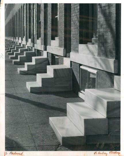 Marble Steps Baltimore 1963. (Bodine/Baltimore Sun)