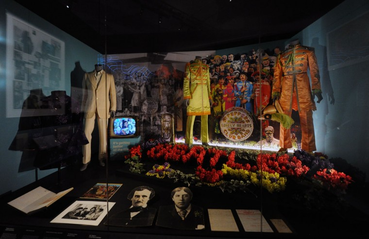Press preview of 'You Say You Want a Revolution? Records and Rebels 1966 - 70' exhibition at Victoria and Albert Museum on September 7, 2016 in London, England. (Photo by Eamonn M. McCormack/Getty Images)