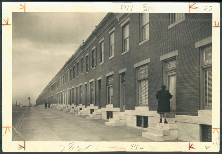 Wilkens Avenue, 1948. (Baltimore Sun)