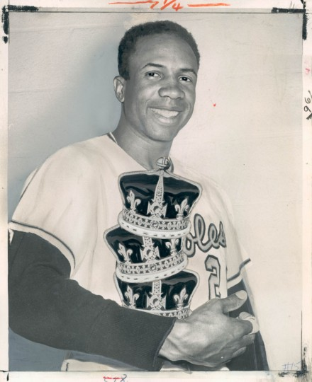 Photo of Frank Robinson dated October 3, 1966. (Baltimore Sun)