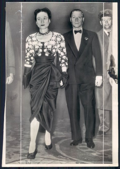 The Duke and Duchess of Windsor in 1946.