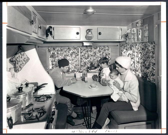 The Flying Waynes in 1968. (Ronald Ellis/Baltimore Sun)