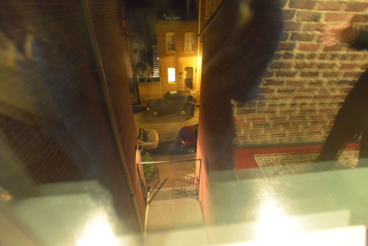 One of the many spots in the Admiral Fell Inn where apparitions have been spotted. (Christina Tkacik/Baltimore Sun)