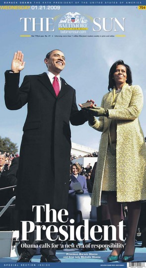 Barack Obama. Jan. 21, 2009.