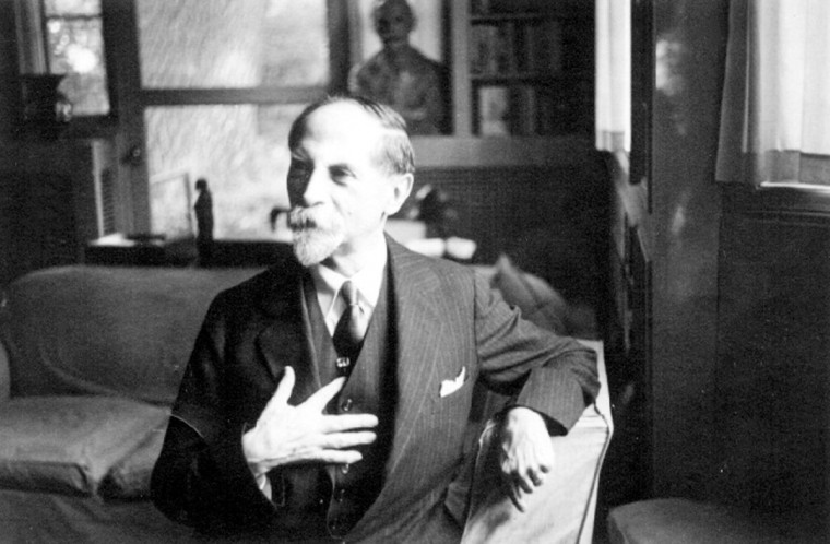 Portrait of Dr. Adolf Meyer, founding director of the Phipps Psychiatric Clinic at Johns Hopkins. (Public Domain Photo)