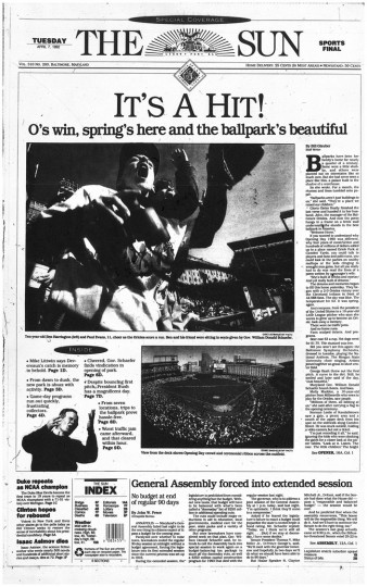 April 7, 1992