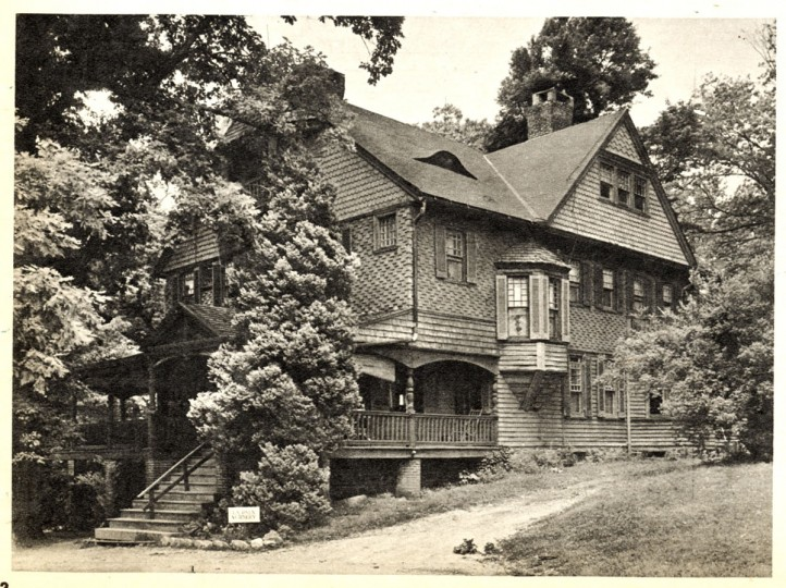 F. Scott Fitzgerald took up residence at La Paix (the Turnbull estate, now the site of St. Joseph Hospital), in 1932 after Zelda suffered her second nervous breakdown and enter Phipps Clinic. Baltimore Sun file photo from Sun magazine dated 07/14/1974.