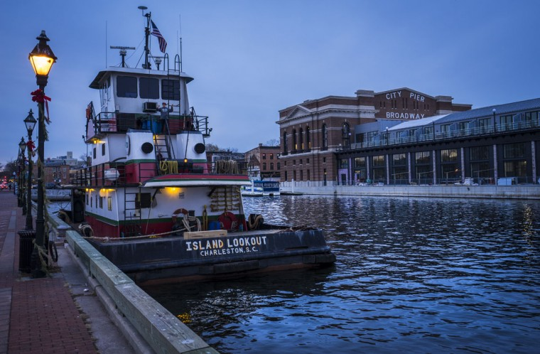 Along the water in Fells Point, Baltimore. (Photo courtesy of Doug Ebbert)