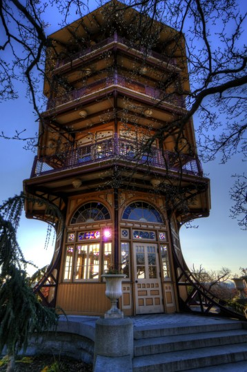 Patterson Park Pagoda. (Photo courtesy of Doug Ebbert)
