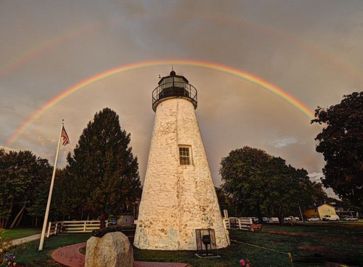 A light house at Concord Point in Havre de Grace. Harford County resident Doug Ebbert began photographing the city as a means of processing his grief following the sudden death of his son, Jesse. (Photograph courtesy of Doug Ebbert)