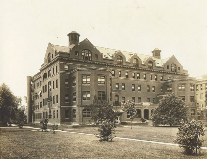 The Henry Phipps Psychiatric Clinic, where Zelda Fitzgerald sought treatment for schizophrenia. (Public domain photo)