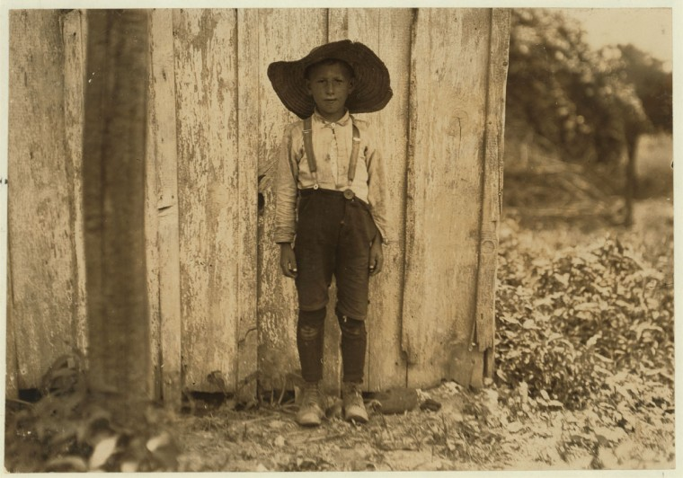 John Slebzak. Location: Baltimore, Maryland. 1909 July. (Lewis Hine/Photo courtesy LOC)