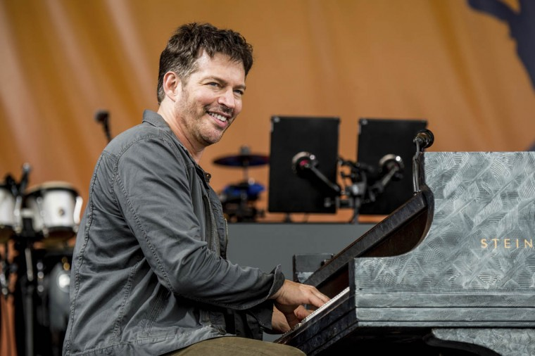 Harry Connick, Jr. performs at the New Orleans Jazz and Heritage Festival on Friday, April 28, 2017, in New Orleans. (Amy Harris/Invision/AP)