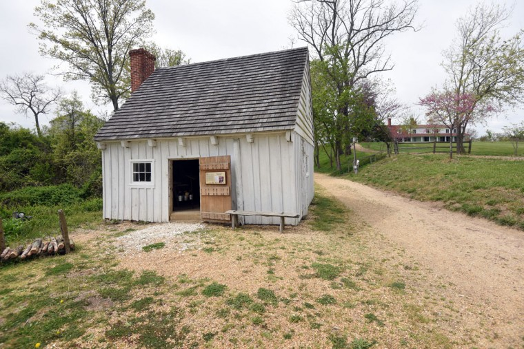 Hollywood, Md--4/19/17--The only remaining slave cabin at Sotterley Plantation will be opened as an exhibit and dedicated to the memory of Agnes Kane Callum on Friday. Kim Hairston/Baltimore Sun.