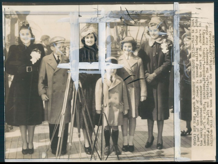 Kennedy with his famy in photo dated March 1938. Monday, May 29, 2017 marks the 100-year anniversary of the birth of Kennedy, who went on to become the 35th President of the United States. (Baltimore Sun archives)