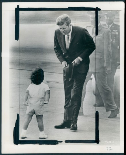 Undated photo of President John F. Kennedy with his son, John, Jr. (Baltimore Sun archive)
