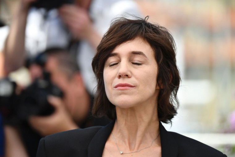 French actress Charlotte Gainsbourg poses on May 17, 2017 during photocall for the film 'Ismael's Ghosts' (Les Fantomes d'Ismael) ahead of the opening ceremony of the 70th edition of the Cannes Film Festival in Cannes, southern France. (Alberto Pizzoli/AFP/Getty Images)