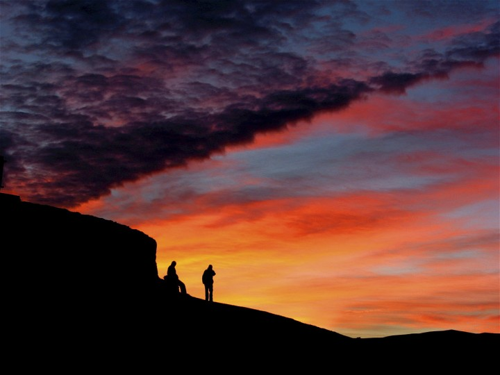 Give your shot a central focus, like reader Ethan Haskel did with this shot of sunrise over Death Valley.