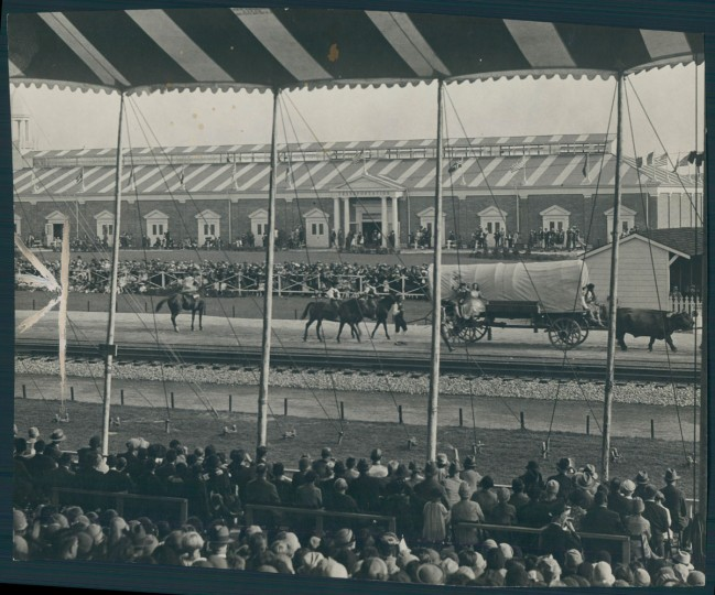 "Some called the Baltimore & Ohio Railroad's centenary celebration ""the biggest thing that has ever happened in Baltimore."" (Baltimore Sun archives)"