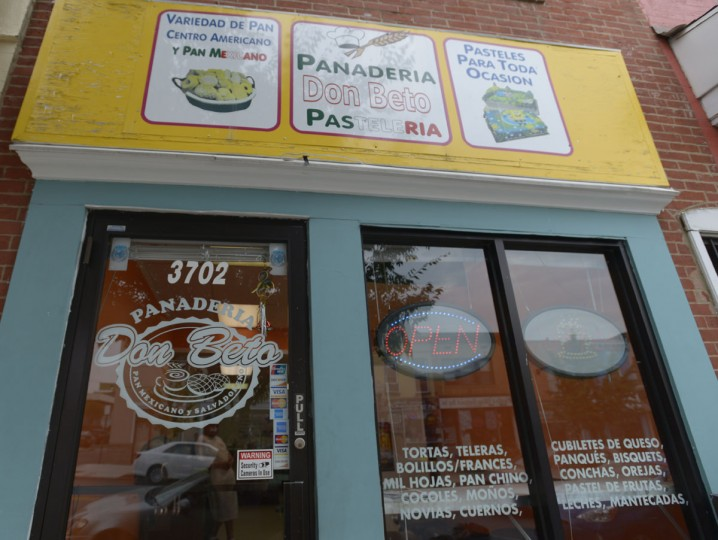 Panaderia Don Berto on Eastern Avenue is run by Alberto Lesner, originally from Nicaragua. He opened the shop a year and a half ago. Overall, he said, the economic situation is better in Baltimore than in his home country, however he faces challenges here. He said his shop was robbed at gunpoint two weeks ago, and the gunman stole the contents of the cash register. (Christina Tkacik/Baltimore Sun)