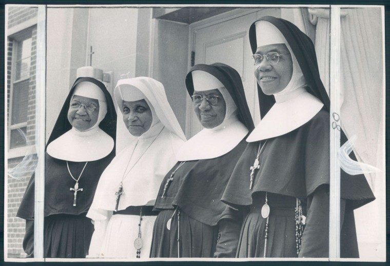 Members of the Oblate Sisters of Providence in 1966. (Baltimore Sun archives)