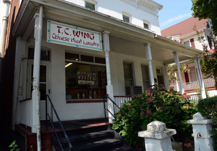 T.C. Wing Chinese Hand Laundry in Roland Park has been a family-run business since 1932.