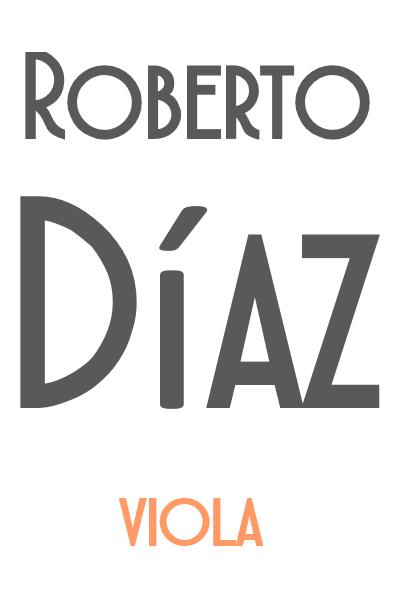 Roberto Díaz