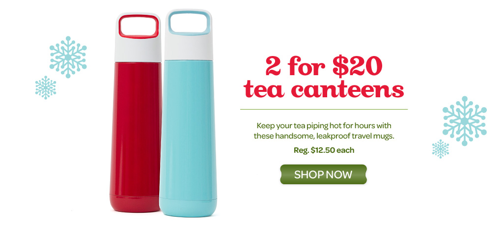 2 Tea Canteens for $20!
